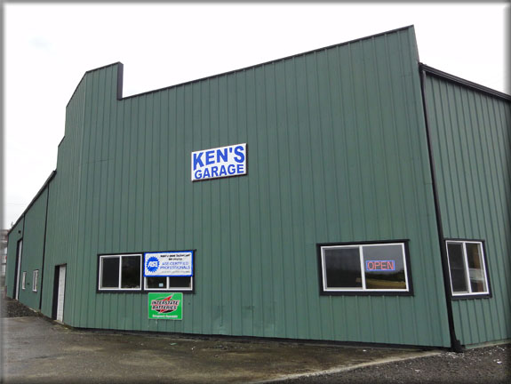 Ken's Garage Raymond South Bend Pacific County